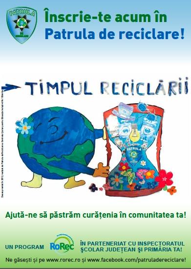 Afis Patrula de reciclare 2013