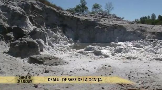 dealul de sare Ocnita