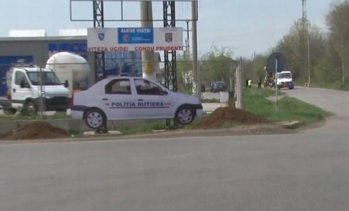 macheta masina politie