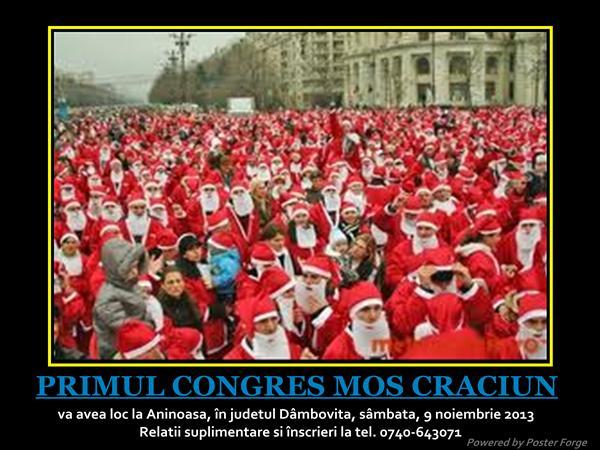 Afis Congres Mos Craciun