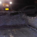 DÂMBOVIŢA: Noapte albă pentru deszăpezire la Târgovişte