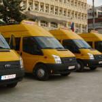 DÂMBOVIŢA: Tot judeţul va avea microbuze şcolare până la finele anului