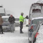 PRAHOVA: S-a închis Autostrada Bucureşti-Ploieşti