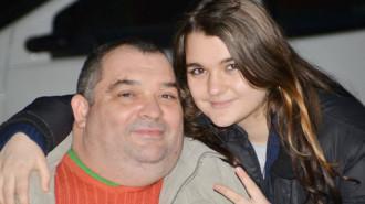 Denisa Curtaşu şi tată ei, Cătălin Curtaşu