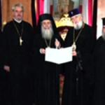 DÂMBOVIŢA: Mitropolitul Nifon a stabilit comuniunea deplină cu Patriar...