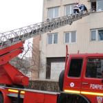 CĂLĂRAŞI: Pompierii au efectuat un exerciţiu de simulare tactico-aplic...