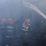DÂMBOVIŢA: Focul le-a mistuit casa în prima zi de Paşte