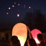 DÂMBOVIŢA: Lampioane pentru Basarabia pe cerul Targoviştei