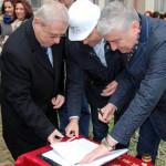 GIURGIU: Au fost reluate lucrările de consolidare la Colegiul