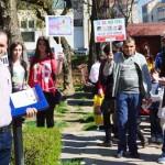 DÂMBOVIŢA: Avortul este o crimă! Marş pentru viaţă pe străzile Târgovi...