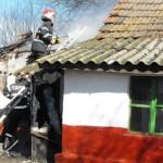 IALOMIŢA: Incendiu în localitatea Gheorghe Lazăr