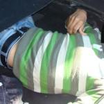 TELEORMAN: Un sirian în locul roţii de rezervă, la trecerea frontierei...