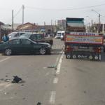 DÂMBOVIŢA: Accident cu două victime la ieşirea din Târgovişte spre Buc...