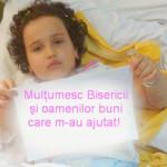 DÂMBOVIŢA: O copilă de 6 ani are nevoie de sprijinul nostru. Ajută şi ...