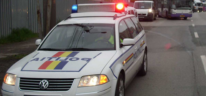 politia rutiera masina