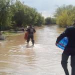 ARGEŞ: Pompierii, alături de sinistraţii din judeţul Teleorman