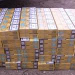 GIURGIU: Prins în vamă cu ţigări de contrabandă printre instalațiile s...