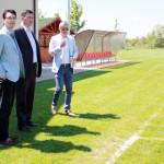 DÂMBOVIŢA: Preşedintele Federaţiei Române de Fotbal sprijină dezvoltar...