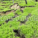 DÂMBOVIŢA: Case în pericol! S-au reactivat alunecările de teren de la ...