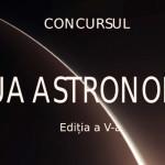 CONCURS: Astronomie - trecut, prezent şi viitor! Eseurile trebuie însc...