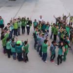 CĂLĂRAŞI: Flash mob pentru protejarea mediului organizat la Şcoala Mir...