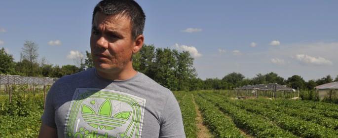 Vasile Şoloiu s-a apucat de agricultură în 2007