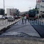 DÂMBOVIŢA: Ploile nu împiedică asfaltările la Târgovişte! Astăzi, Bule...