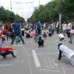 SUD MUNTENIA: Poliţiştii au petrecut 1 iunie în mijlocul copiilor. UPD...