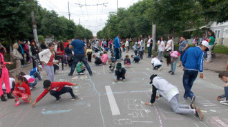 desene asfalt