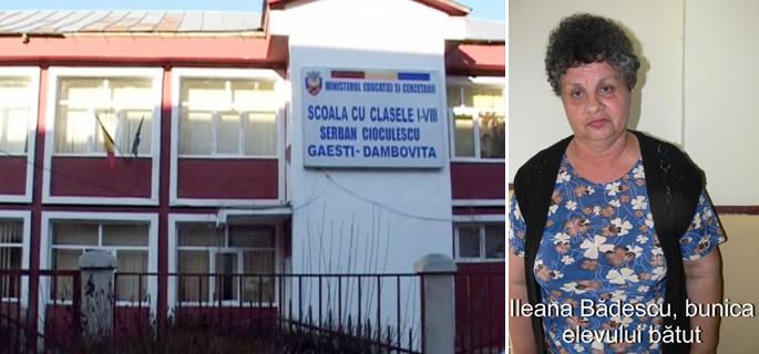 scandal scoala serban cioculescu gaesti