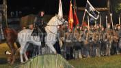 """DÂMBOVIŢA: """"Vlad Voievod Drăculea"""", un spectacol care a reînviat istoria la Târgovişte. GALERIE FOTO"""