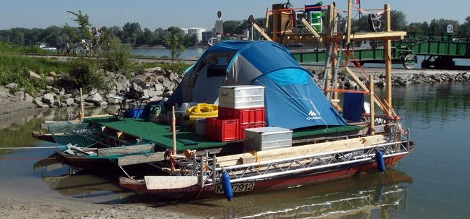 barca artizanala dunare 1