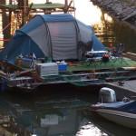 CĂLĂTORIE: Două luni de croazieră pe Dunăre, cu un vapor... artistic! ...