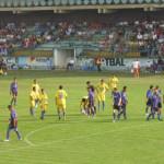 """FOTBAL: """"Lăncierii"""" târgovişteni au stăpânit terenul și meciul în amic..."""