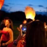 IALOMIŢA: Spectacol de lumini pe cerul Sloboziei! 109 lampioane au sus...