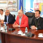 COLABORARE: Preoți capelani din Europa, în vizită la Primăria Giurgiu