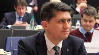 Senatorul Valeriu Todiraşcu - Noua Republică - iniţiatorul proiectului legislativ (Foto: ziuanews.ro)