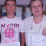 DÂMBOVIŢA: Andrei Marinoiu, locul I la Olimpiada Naţională de Meşteşug...