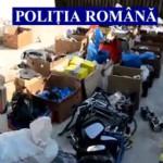 ARGEŞ: Poliţiştii au confiscat componente auto Dacia în valoare de 100...