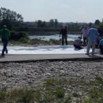 ARGEŞ: Barajele gonflabile vor înlocui digurile din saci de nisip care...