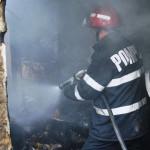 CĂLĂRAŞI: Persoane necunoscute au dat foc Centrului APIA din Budeşti