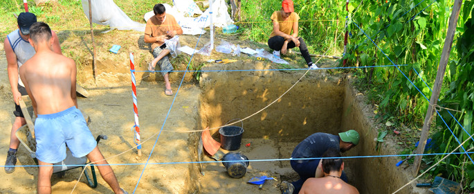 santier arheologie curtea domneasca (Neamt)
