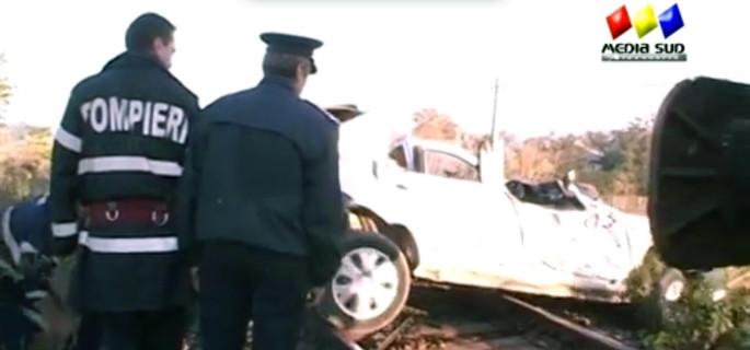 accident tren rosiori est teleorman