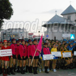 DÂMBOVIŢA: 1.200 de majorete au defilat pe străzile Târgoviştei!  Pent...