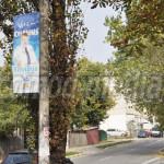 ACUZAŢIE: Promovare stradală ilegală pentru candidatul Klaus Iohannis,...