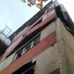 TELEORMAN: Explozie la etajul 10 al unui bloc din Turnu Măgurele