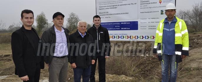 Alexandru Ţachianu, primul din stânga