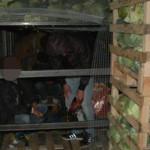 GIURGIU: 52 de migranţi sirieni, afgani şi irakieni, ascunşi într-un T...