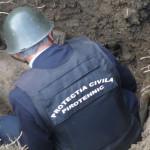 ARGEȘ: Pirotehniștii de la ISU au detonat bomba de aviație găsită la C...