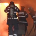 CĂLĂRAŞI:  Firmă cuprinsă de flăcări la Şoldanu! Scânteia s-a pornit d...